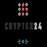 Logo for Cryptex24.com: Bitcoin exchange service accepting WU/MG/RIA